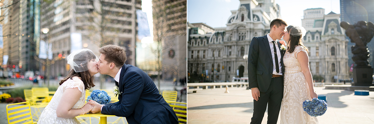 City Hall elopement by Peach Plum Pear Photo