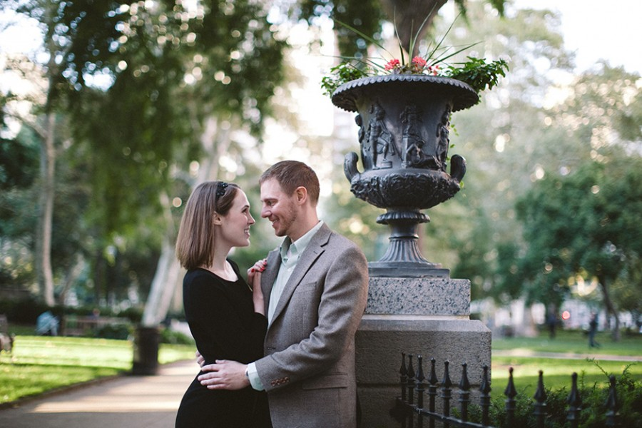 Art Museum and Parc restaurant engagement :: Erin and Jeff :: September 17, 2013