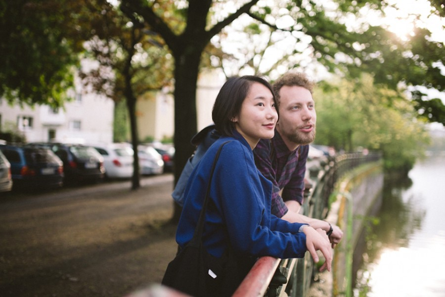 Newlyweds session in Berlin, Germany :: Dee and Richard in Berlin, Germany