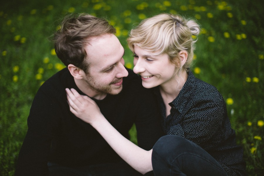 Couple portraits in Berlin, Germany :: Julia and Michael