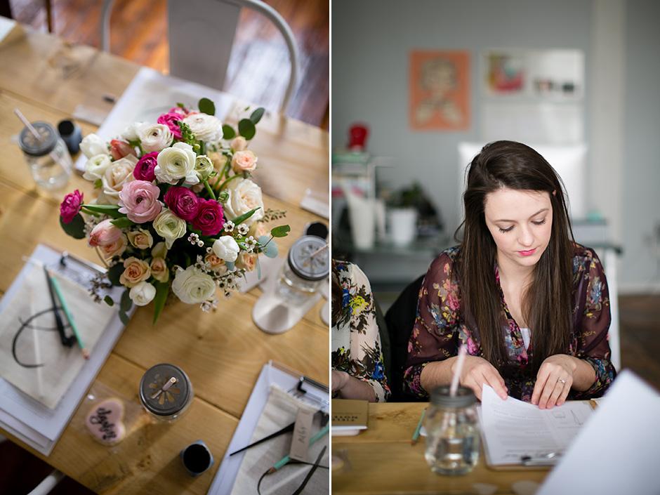 Valentine's Day Calligraphy Brunch_016