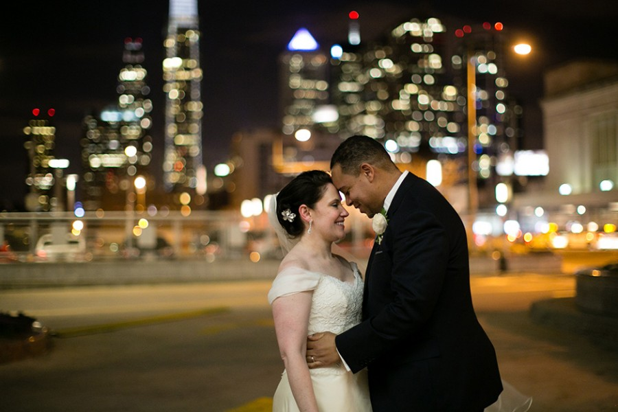 Cira Centre at JG Domestic wedding :: Katie and Eric :: December 19, 2014