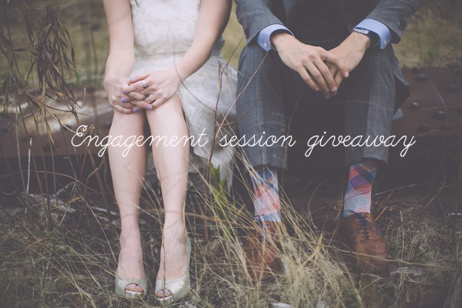 Engagement session giveaway!