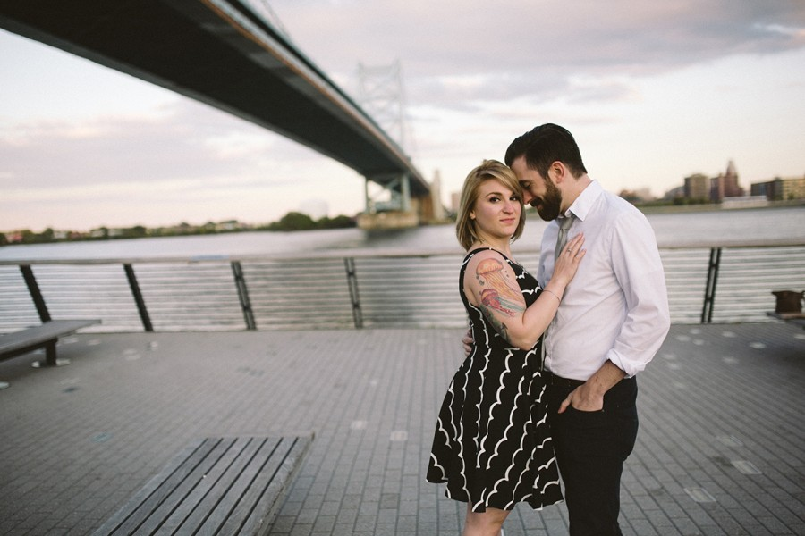 Erica and Dan :: Old City