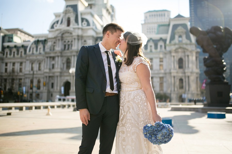 City Hall elopement :: Genna and Ian :: November 20, 2014