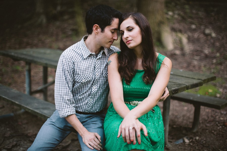 Allison and Scott :: Wissahickon Creek