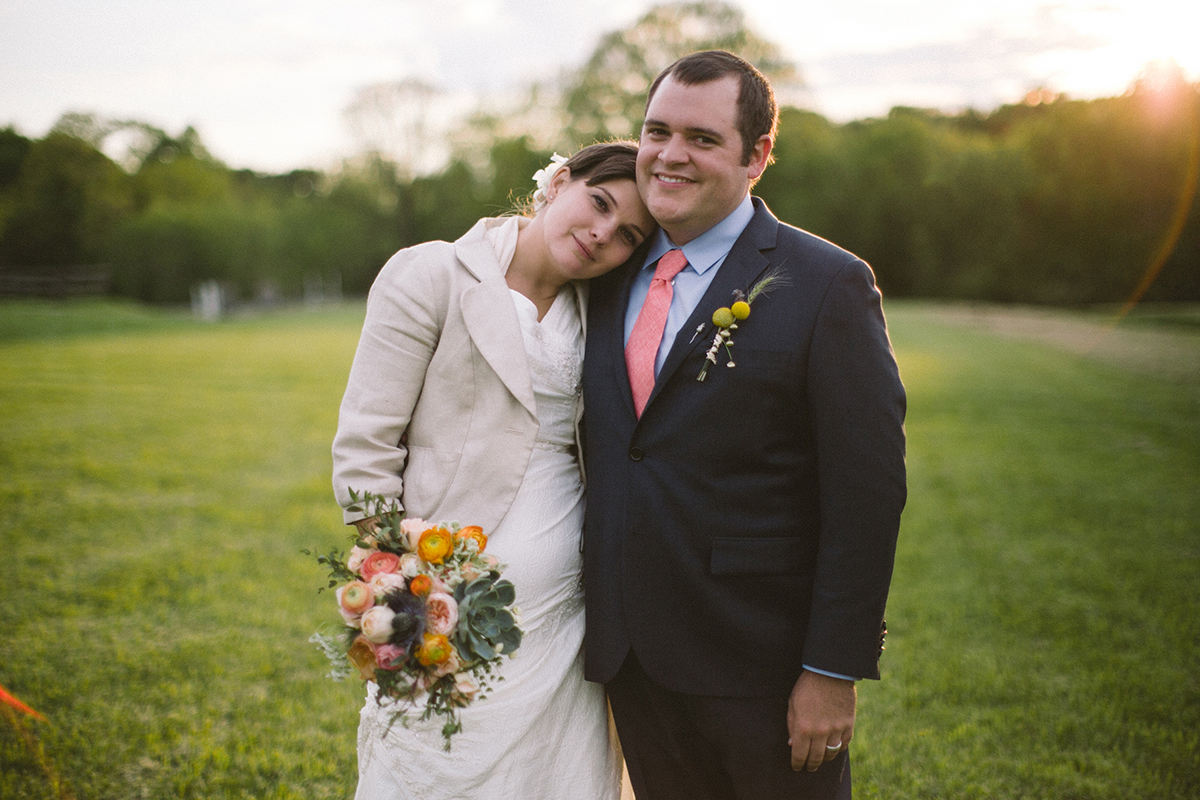 Pennsylvania farm wedding by Peach Plum Pear Photo