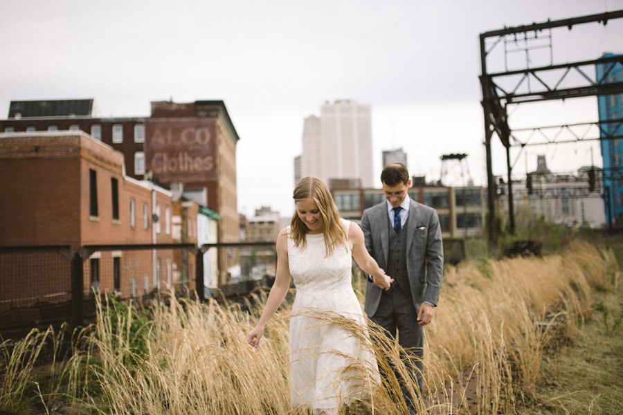 Rachel and Josh :: Reading Viaduct