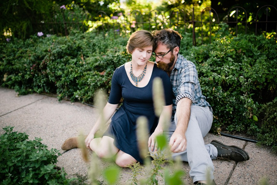 West Philly engagement session :: Paul and Addie