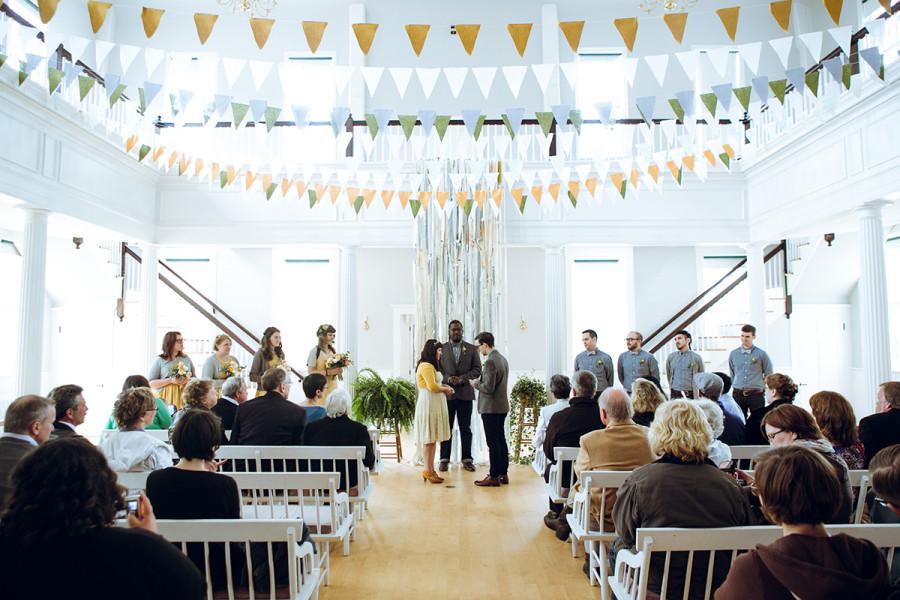 DIY New Hampshire wedding :: Karen and Peter :: by Jau