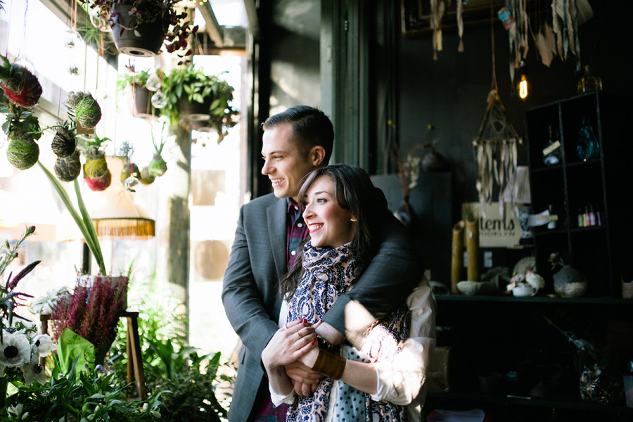 Brooklyn engagement session :: Pam and Andrew