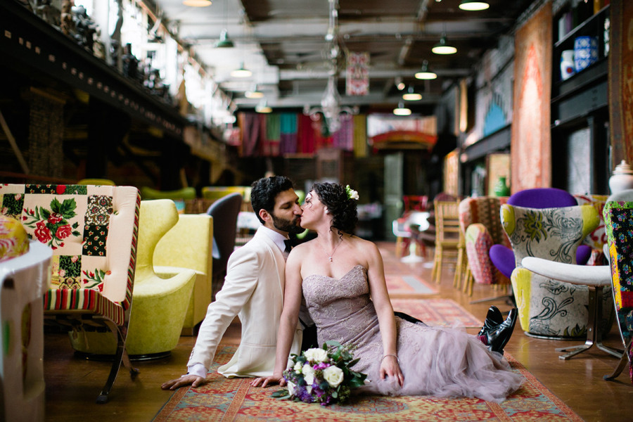 Material Culture wedding :: Alison and Shaheen