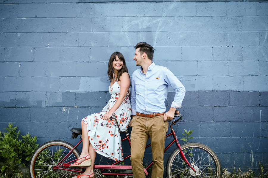 South Philly engagement :: Katie and Marty :: by Jessica