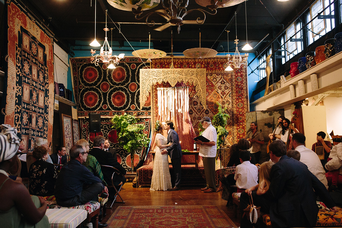 Material Culture Wedding Jessie And Max By Jau