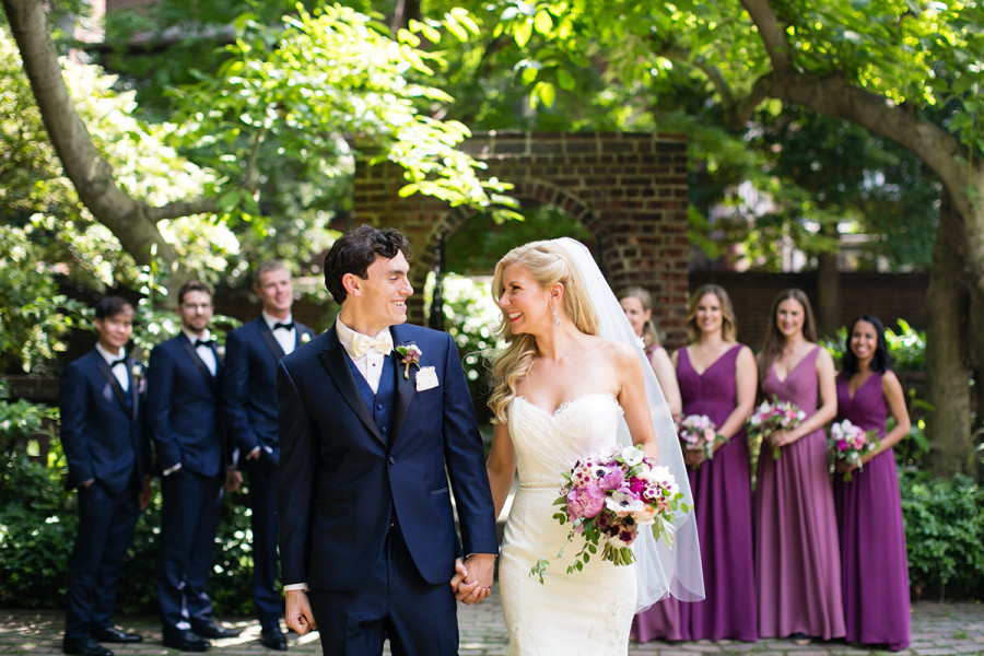Colonial Dames wedding :: Victoria and Troy