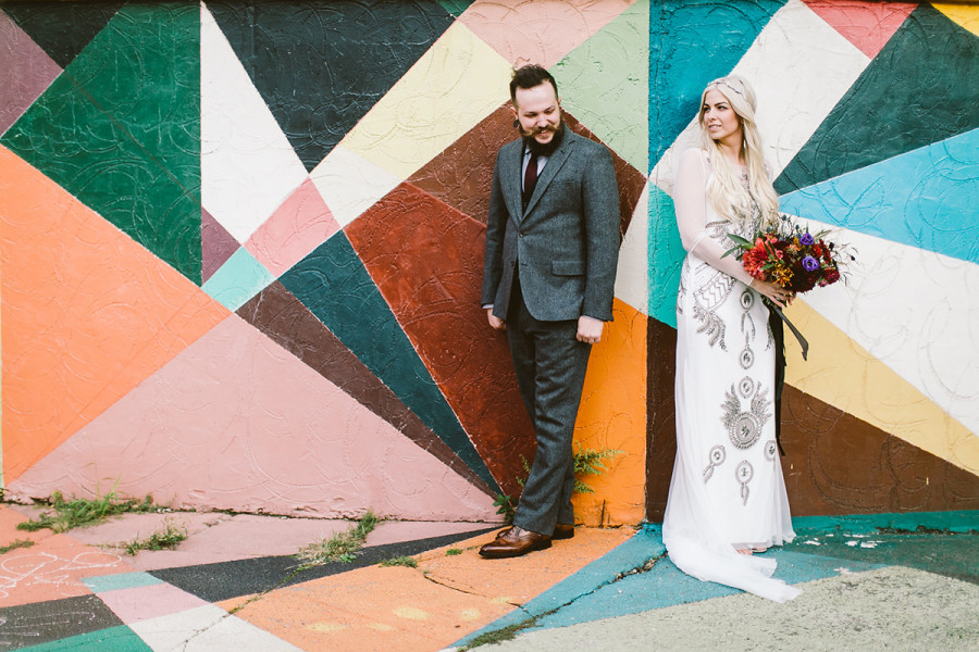 MAAS Building wedding :: Kelly and Justin :: by Jessica
