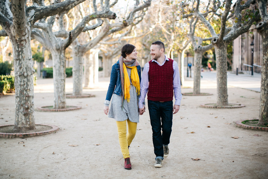 Barcelona couple portrait session :: Demetry and Katia