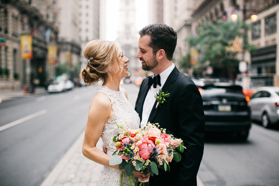 Headhouse Square and Reading Terminal wedding :: Hilary and Fred :: by Jessica
