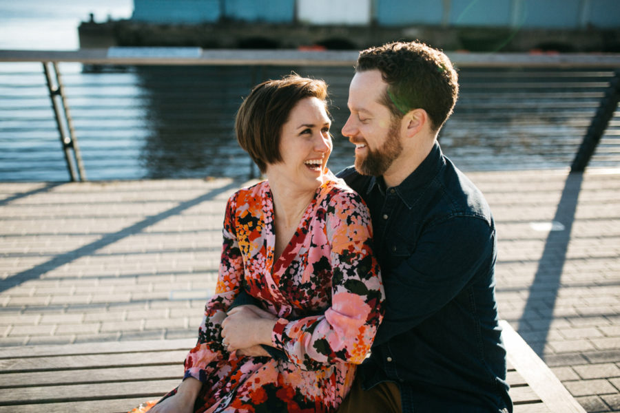 Fishtown and Old City engagement session :: Jackie and Paul