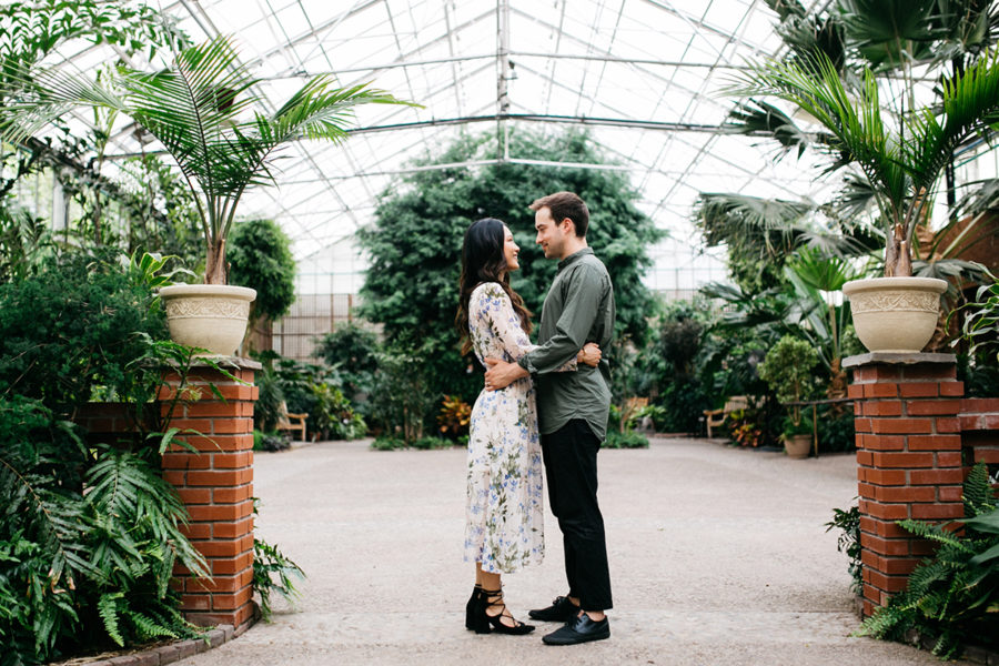 Horticulture Center and WM Mulherin's Sons engagement :: Terry and Collin