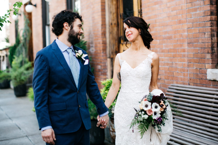 Martha Bar/WM Mulherin's Sons Hotel Fishtown wedding :: Erin and Brian