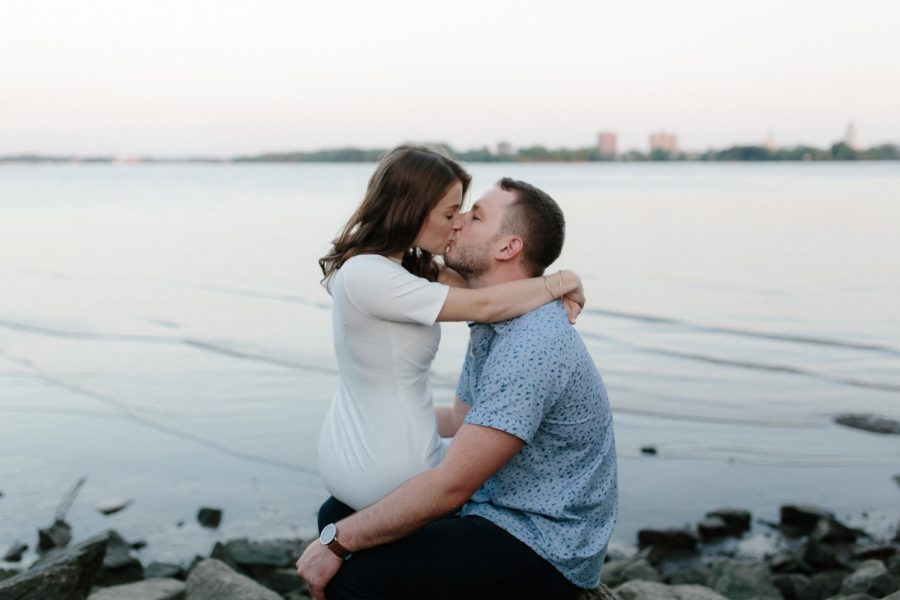 Fishtown and Penn Treaty Park engagement :: Julia and Andy :: by Jau