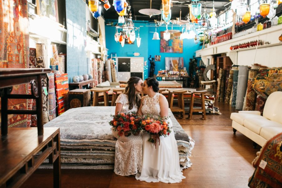 Material Culture same-sex wedding :: Melissa and Danielle