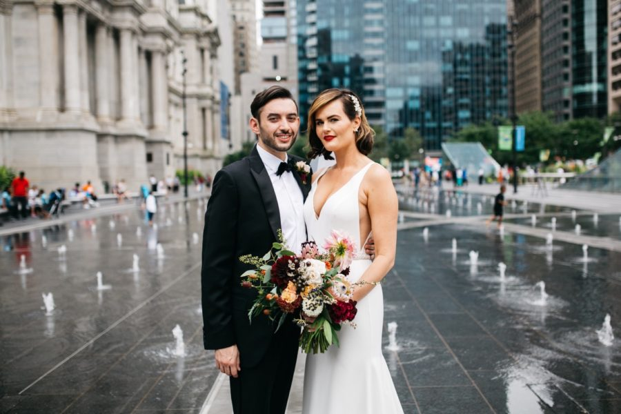 One North Broad wedding :: Dana and Mark