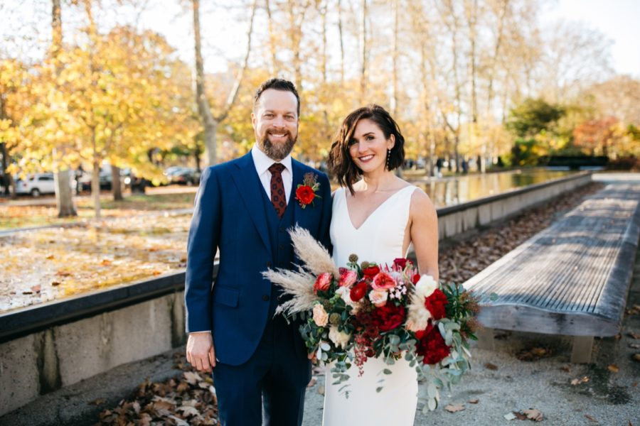 Stylish Horticulture Center wedding :: Jackie and Paul
