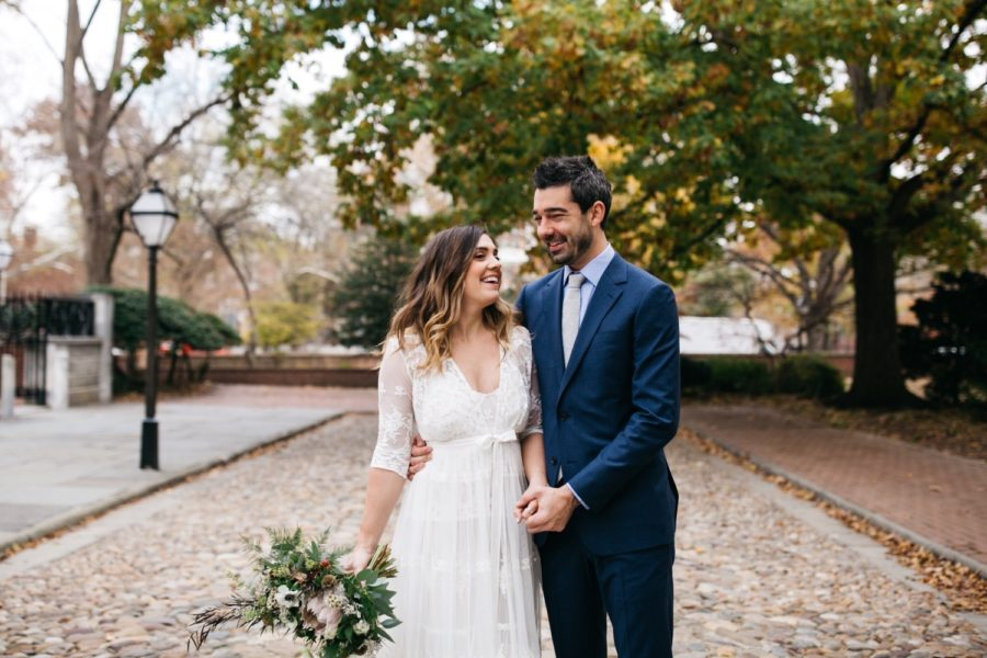 Philadelphia Distilling Fishtown wedding :: Cailun and Derek