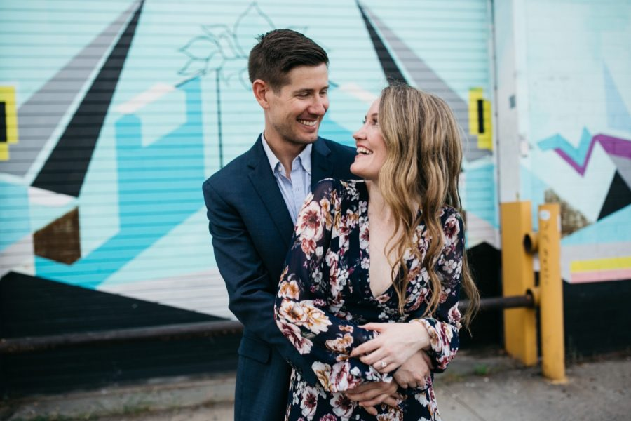 Williamsburg and Domino Park engagement :: Bridget and Brett