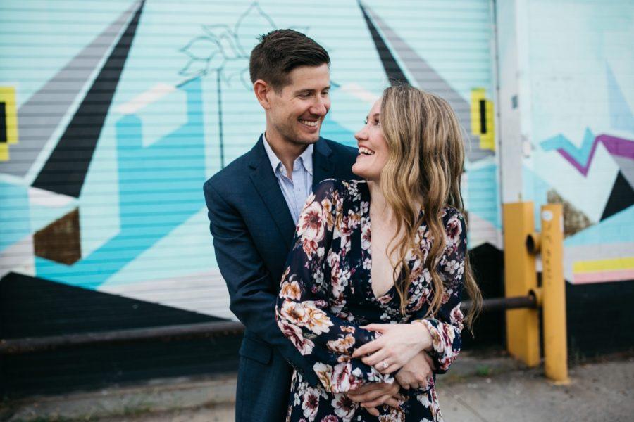 Williamsburg and Domino Park engagement :: Bridget and Brett